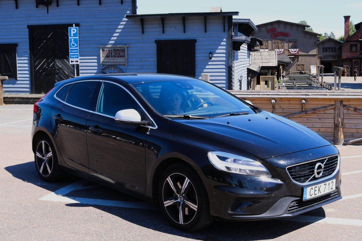 IEn High Chaparral con nuestro Volvo alquilado con Hertz <br> Foto: Israel Úbeda / sweetsweden.com