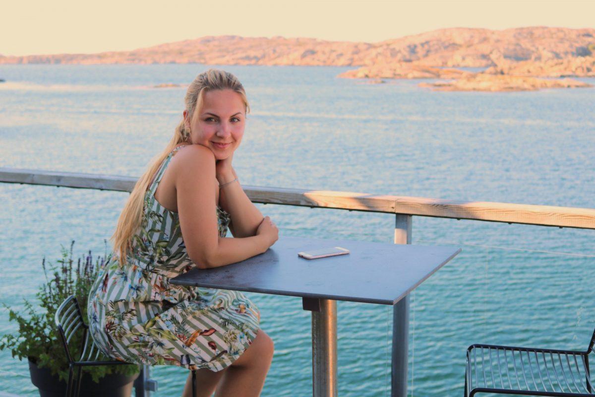 Contemplando las vistas desde Salt o Sill <br> Foto: Israel Úbeda / sweetsweden.com