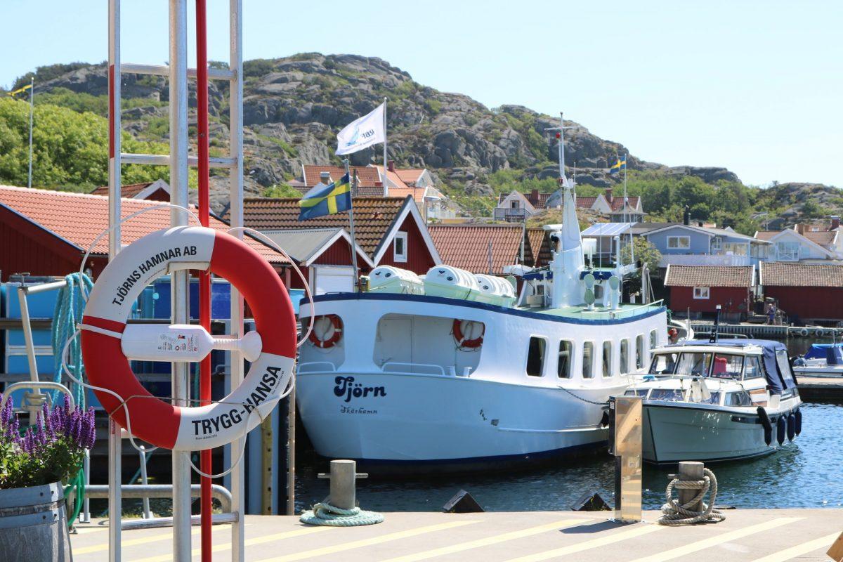 Barcos por el archipiélago de Bohuslän <br> Foto: Israel Úbeda / sweetsweden.com