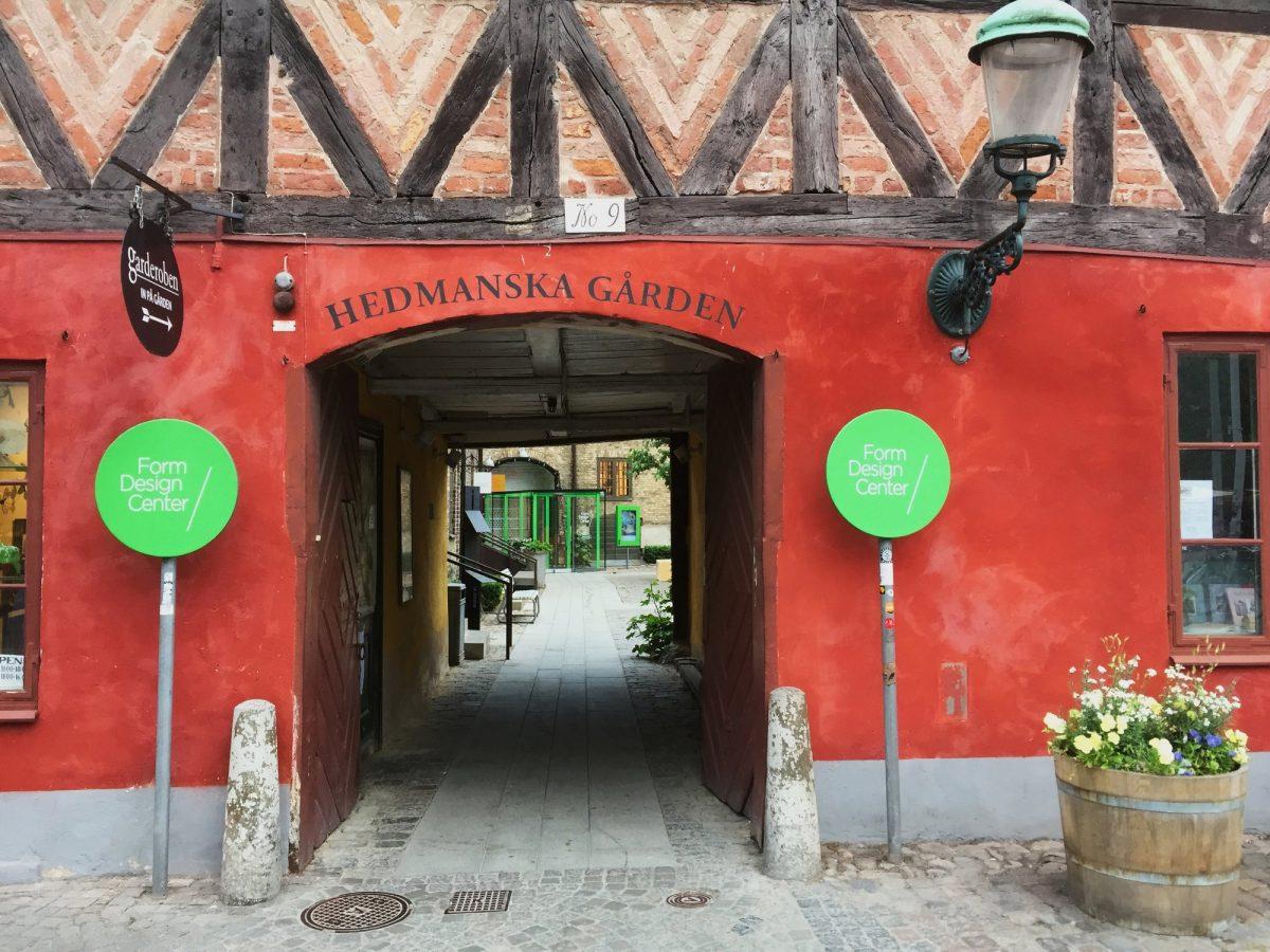 Hedmanska Gården en Malmö <br> Foto: Israel Úbeda / sweetsweden.com