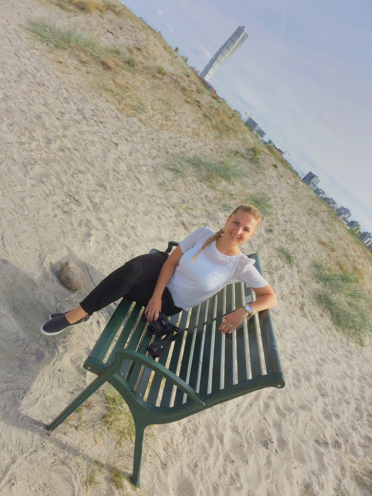En la playa de Ribersborg en Malmö <br> Foto: Israel Úbeda / sweetsweden.com