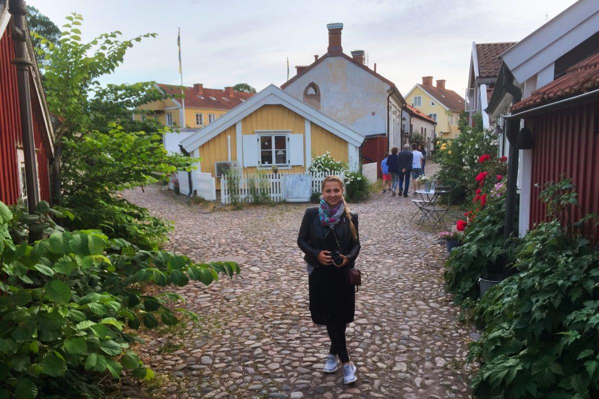 Barrio antiguo de Kalmar, Suecia <br>Foto: Israel Úbeda / sweetsweden.com