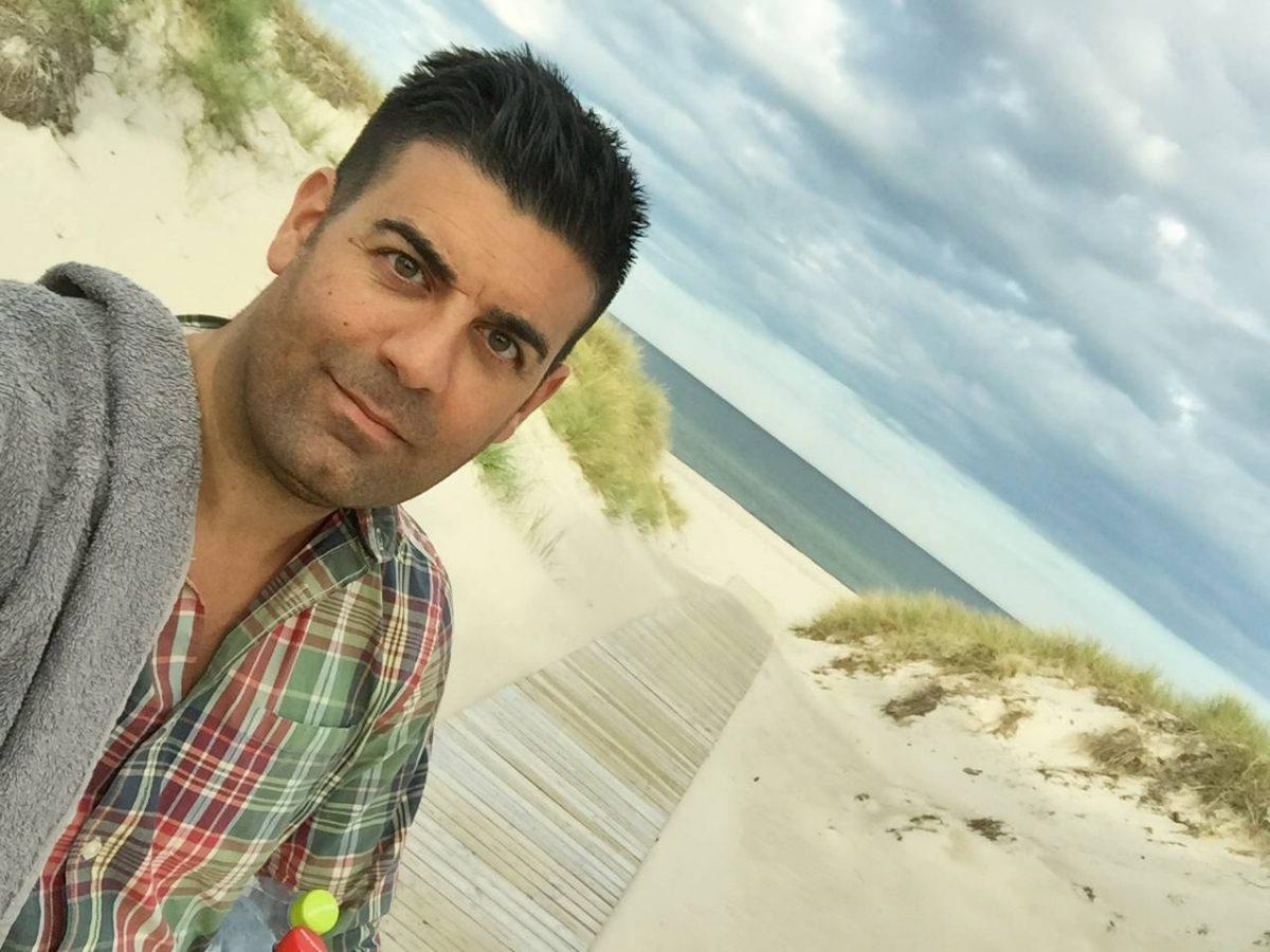 De camino a las playas de arena blanca en Böda Sand <br> Foto: Israel Úbeda / sweetsweden.com