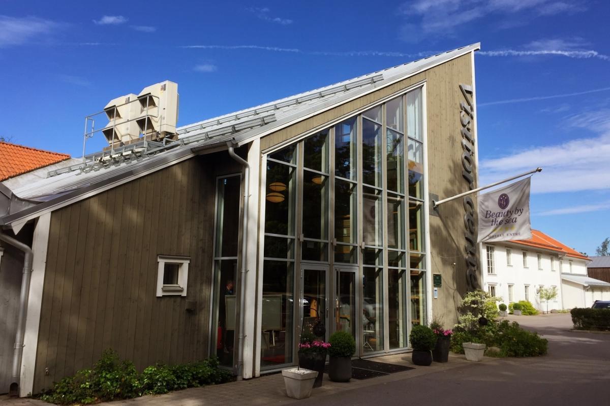 Hotel Gränsö Slott en Västervik <br> Foto: Israel Úbeda / sweetsweden.com