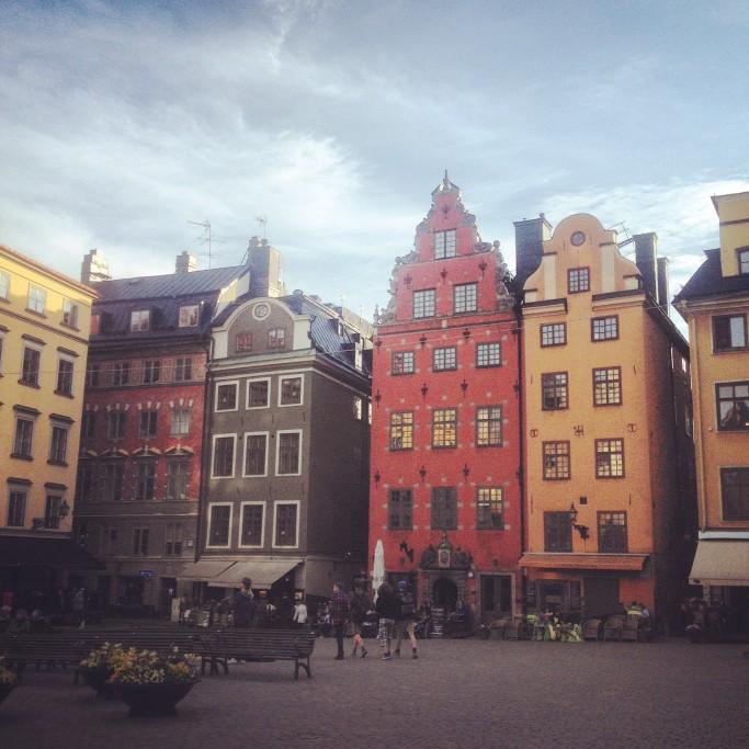 Plaza Stortorget en Gamla Stan, Estocolmo <br>Foto: Israel Úbeda / sweetsweden.com