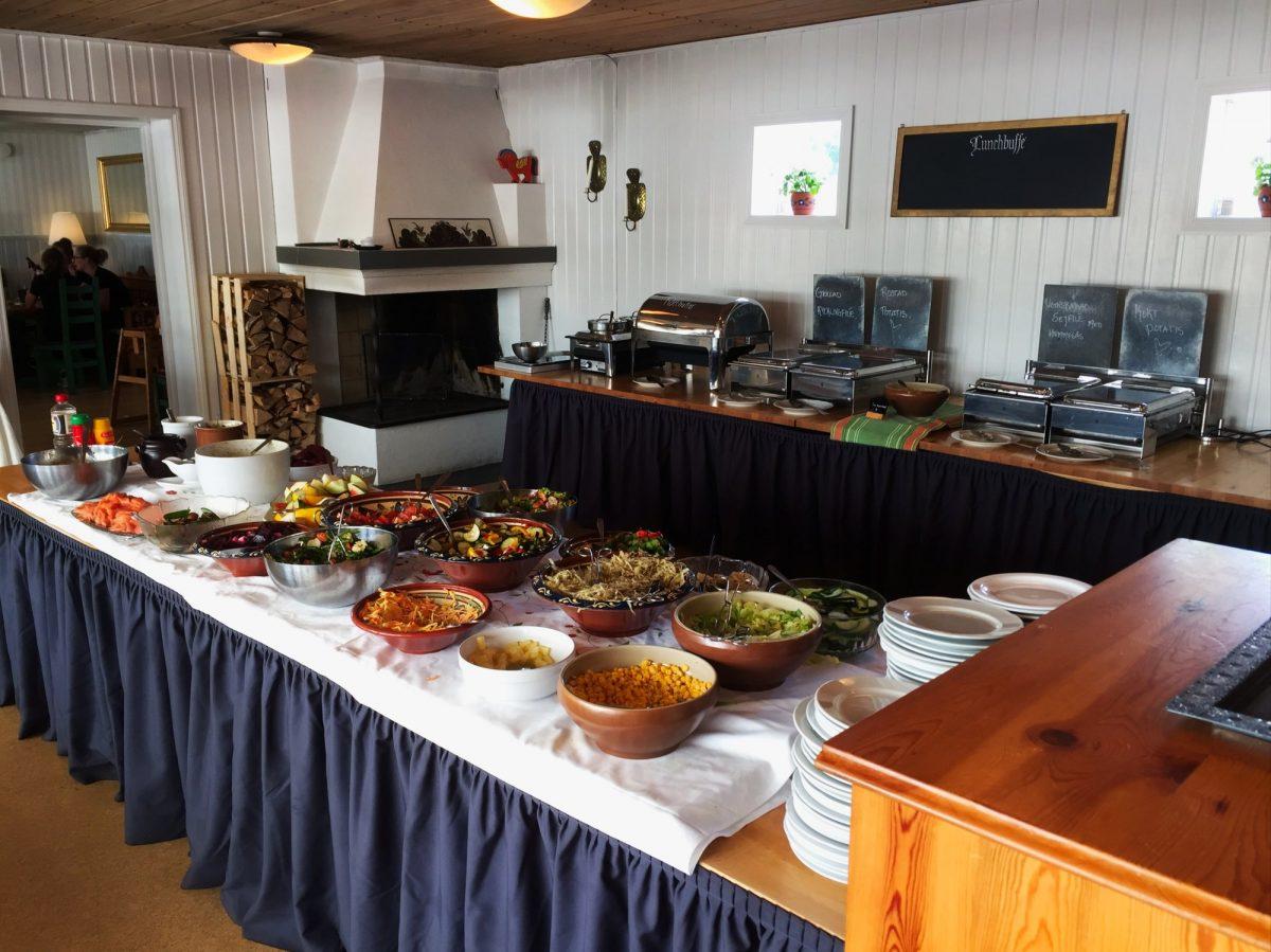 IRestaurante junto a Carl Larsson gården en Sundborn, Dalarna <br> Foto: Israel Úbeda / sweetsweden.com