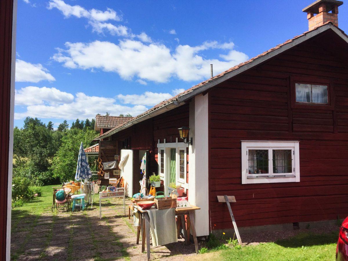 Loppis, los mercados de las pulgas particulares en Suecia <br> Foto: Israel Úbeda / sweetsweden.com