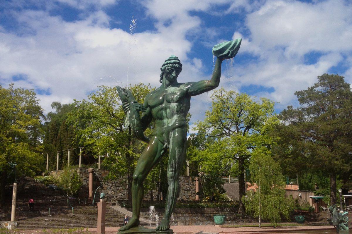 Estatua en Millesgården Foto: Israel Ubeda / sweetsweden.com