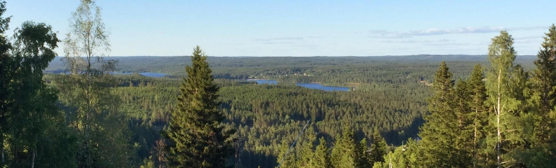 De nieuwste Wandelgids Småland