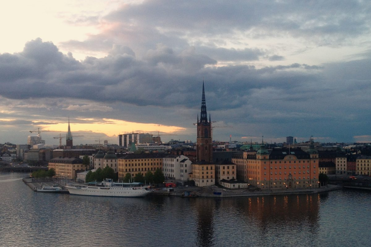 Vista de Riddarholmen, Estocolmo <br> Foto: Israel Úbeda / sweetsweden.com