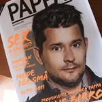 Portada de la revista sueca Pappa