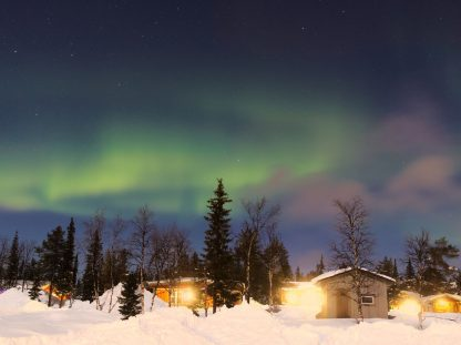 Oferta: viatge econòmic per veure l'aurora boreal a Suècia