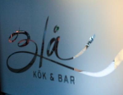 Viaje a Karlstad y Värmland: cenando en el restaurante Blå