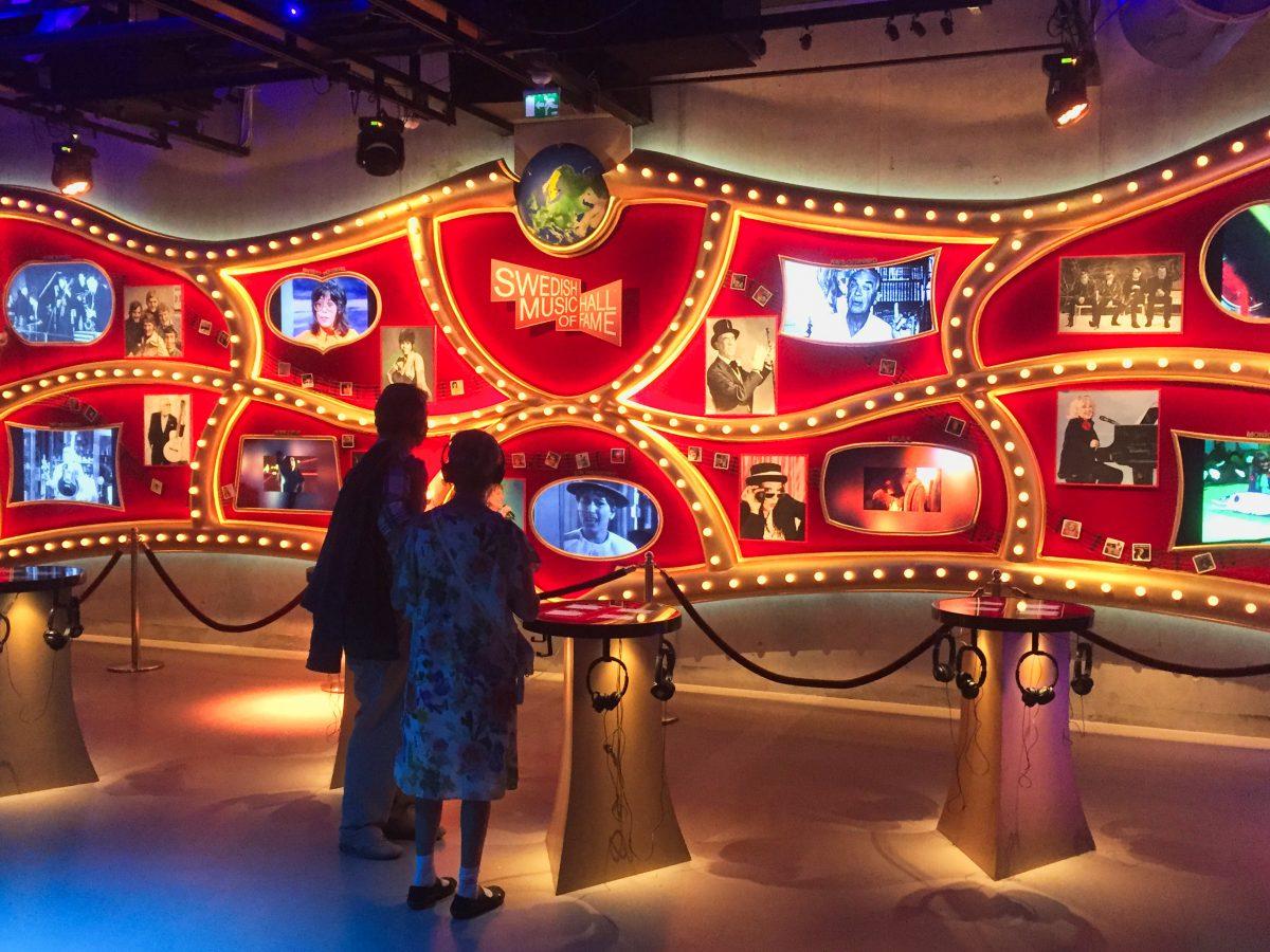 Exposición Swedis music hall of fame en el Museo ABBA de Estocolmo <br> Foto: Israel Ubeda / sweetsweden.com