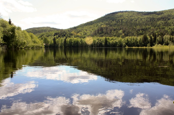 Paisajes del río Klara en Värmland, Suecia <br> Foto: Israel Úbeda / sweetsweden.com