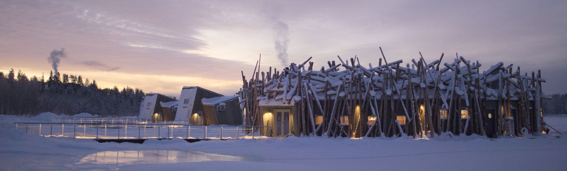 Arctic Bath, Pure Relaxation in Lapland's Spectacular Floating Hotel