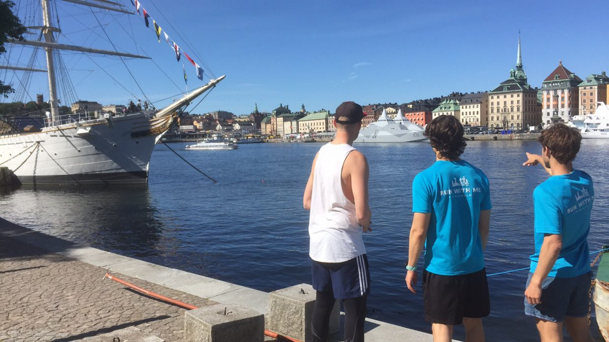 Corriendo por Estocolmo con Run With Me Stockholm <br> Foto: Israel Úbeda / sweetsweden.com