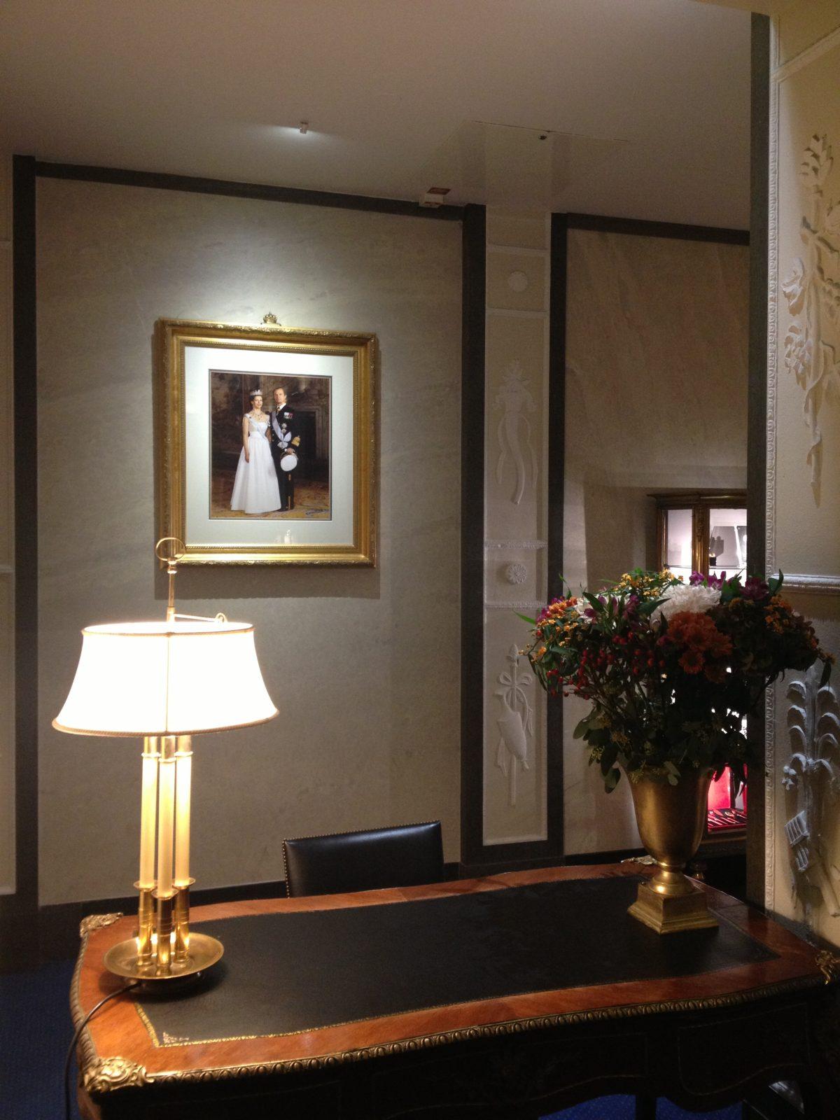 Los reyes de Suecia presentes en el Grand Hotel Stockholm <br> Foto: Israel Úbeda / sweetsweden.com