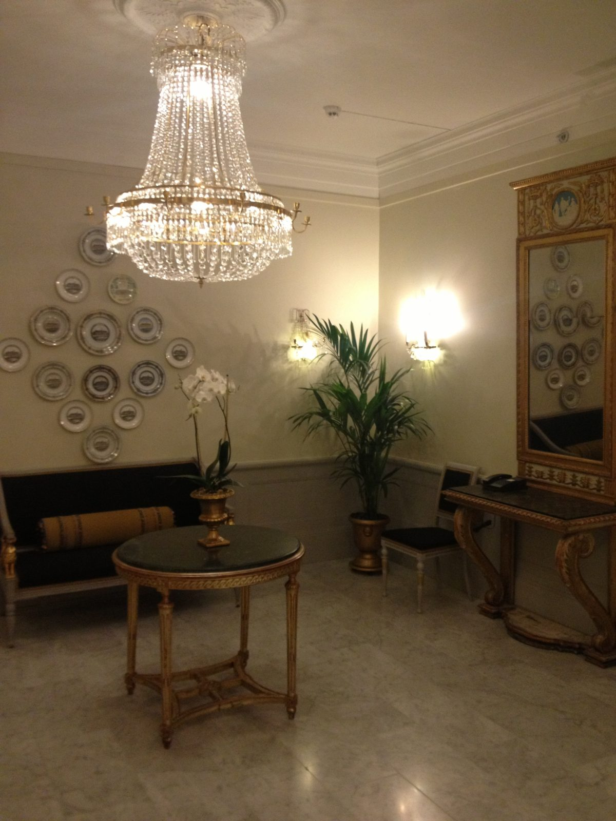 Interior del Grand Hotel Stockholm <br> Foto: Israel Úbeda / sweetsweden.com