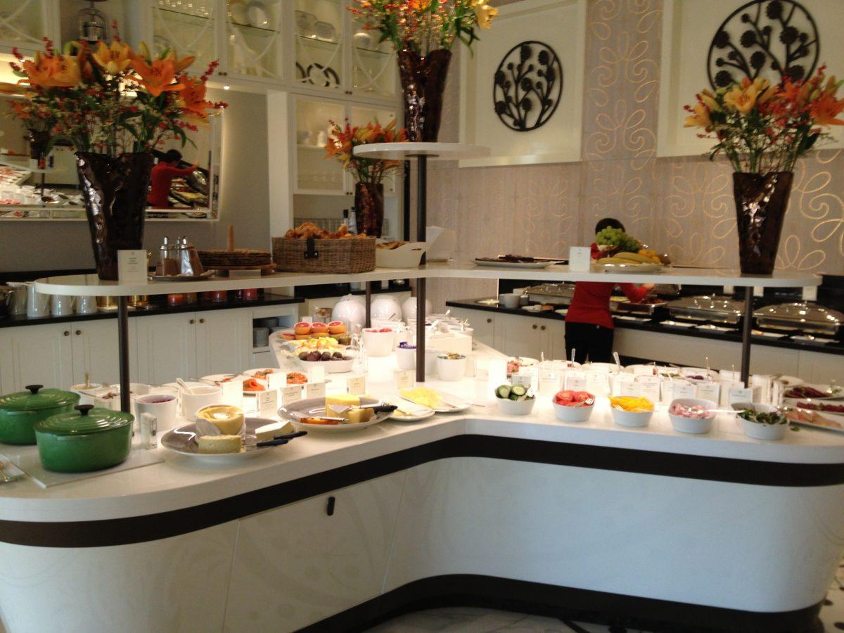 Desayuno del Grand Hotel en Verandan <br> Foto: Israel Úbeda / sweetsweden.com