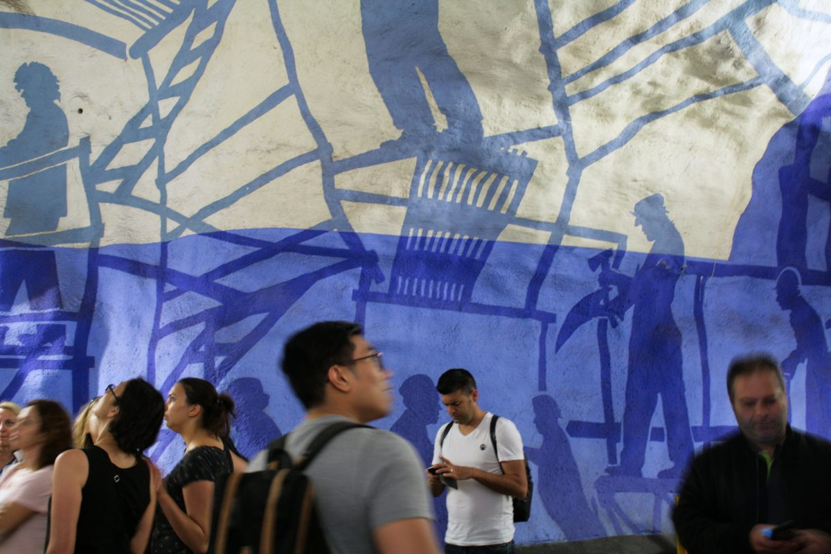 Visita guiada gratis al arte del metro de Estocolmo <br> Foto: Israel Úbeda / sweetsweden.com