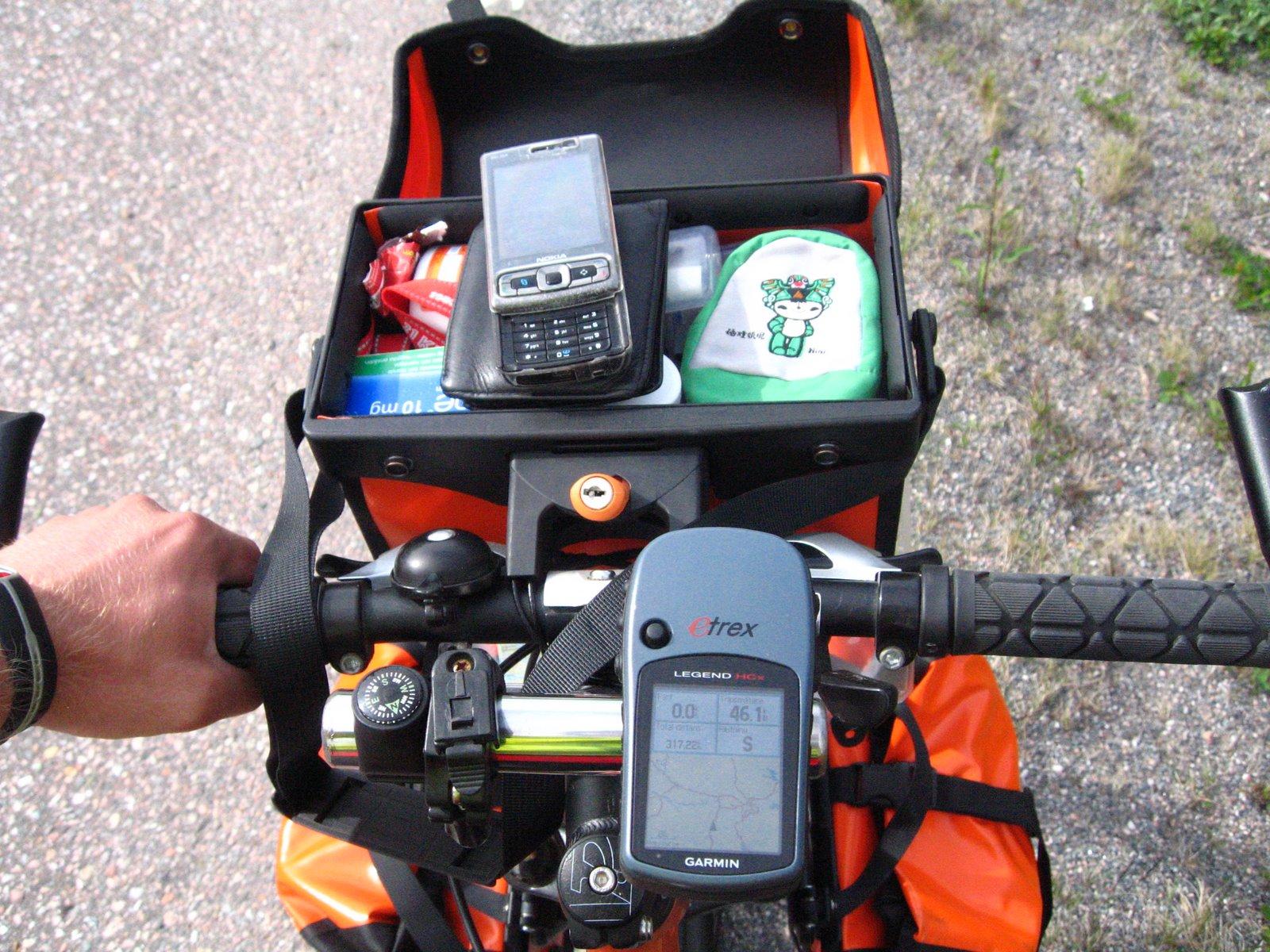 Detalle de la bicicleta de Joel Thorbjörnsson