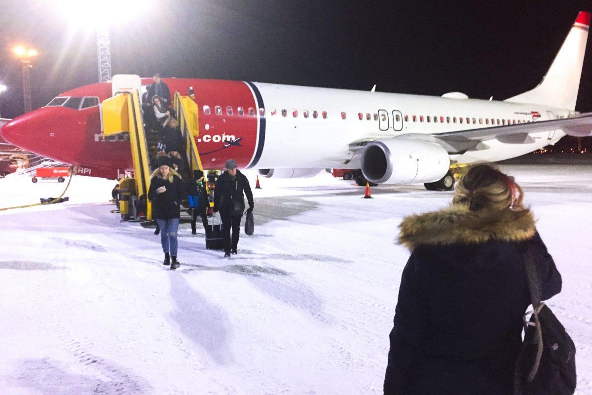 Vuelo de Norwegian a Luleå