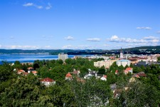 Vista de Jönköping desde el Stadsparken, foto: Israel Úbeda