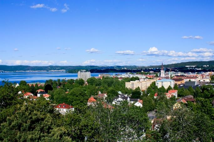 Vista de Jönköping desde el Stadsparken <br> Foto: Israel Úbeda / sweetsweden.com