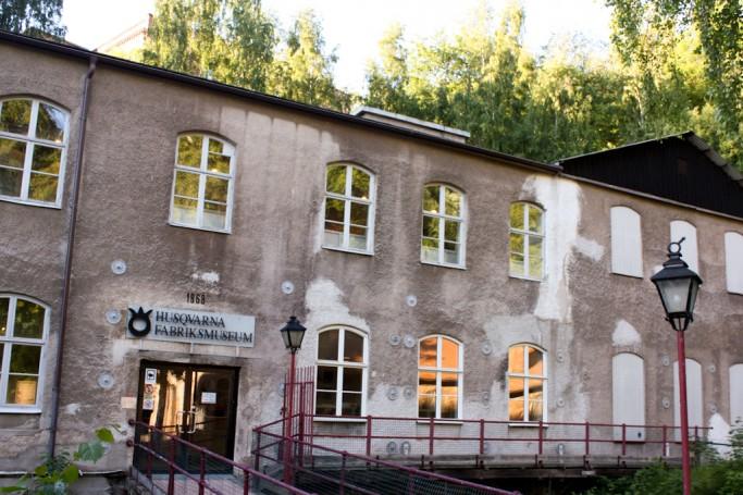Museo Industrial de Husqvarna en Huskvarna, foto: Israel Úbedaq