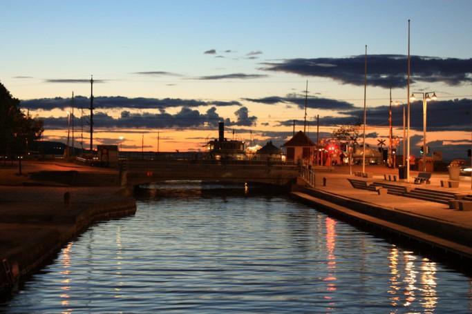 El sol al que le cuesta ponerse en Jönköping, foto: Israel Úbeda