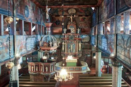 Interior de la iglesia de Habo, foto: Israel Úbeda