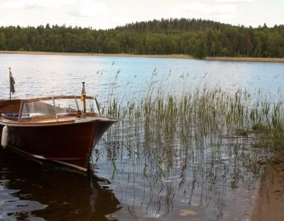 Viaje a Småland: navegando por el lago Bunn