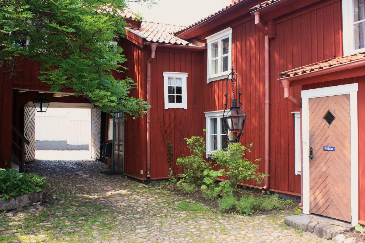 Eksjö un pueblo de madera en Suecia <br> Foto: Israel Ubeda / sweetsweden.com