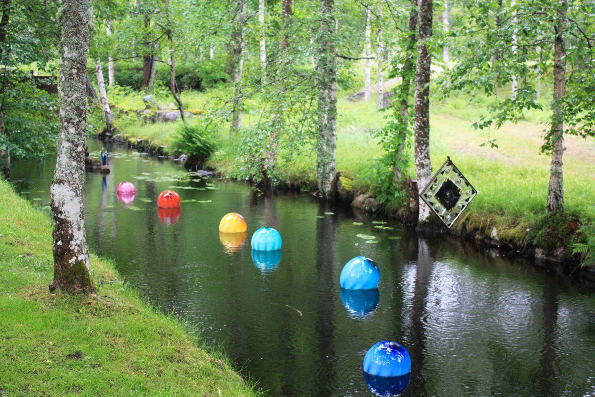 Decoración del paisaje en vidrio en Småland, Suecia <br> Foto: Israel Úbeda / sweetsweden.com