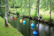 Decoración del paisaje en vidrio en Småland, Suecia Foto: Israel Úbeda / sweetsweden.com