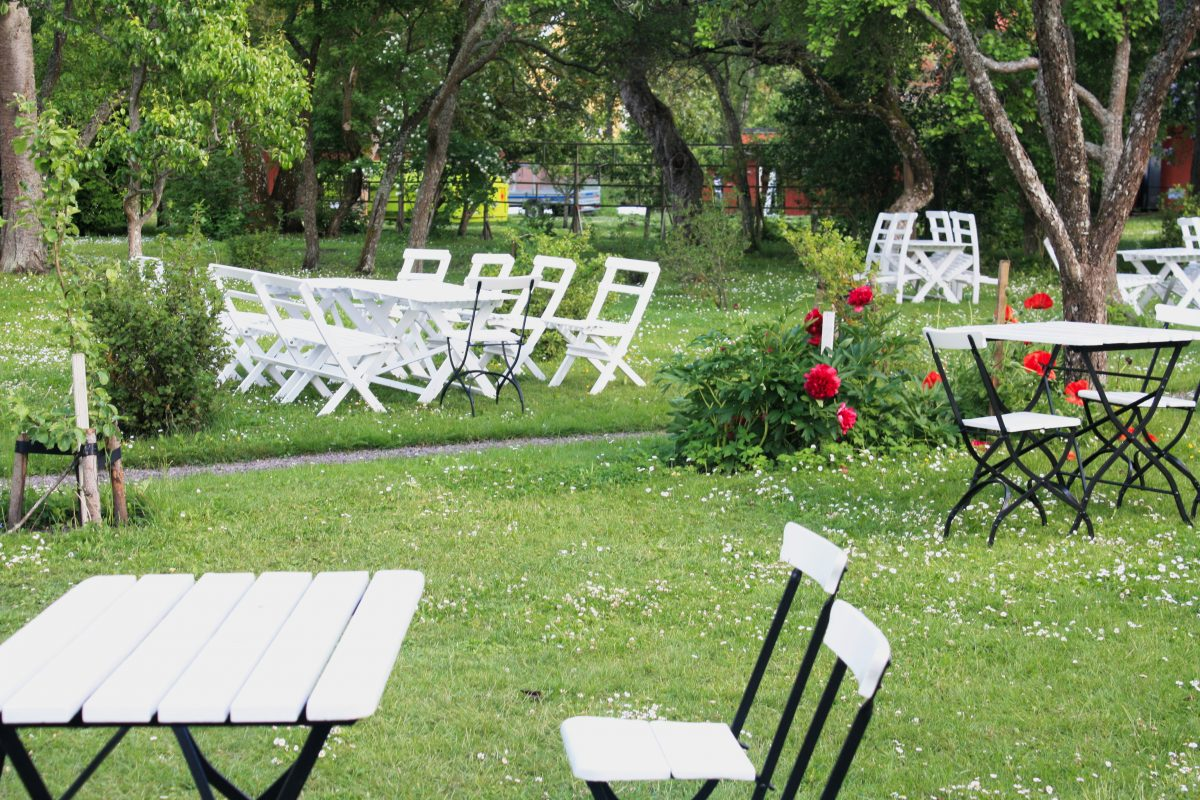 Jardines Krusenstiernska en Kalmar <br> Foto: Israel Úbeda / sweetsweden.com