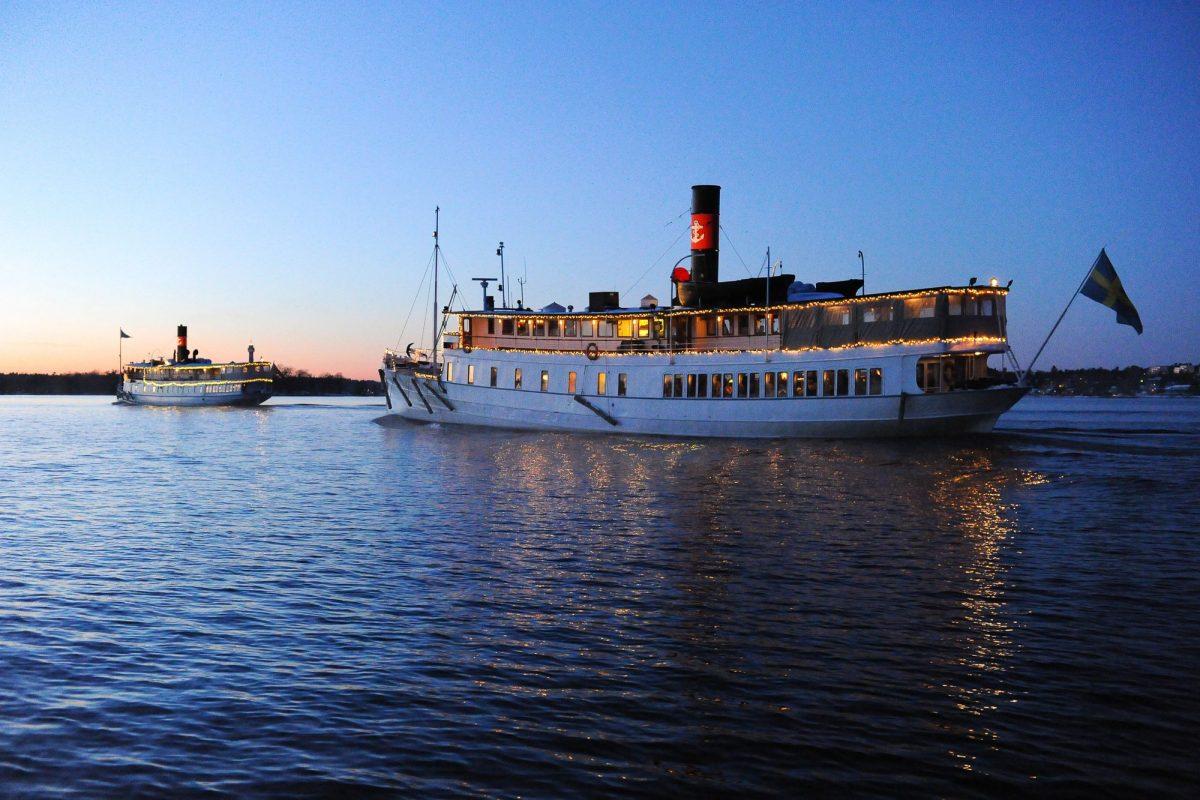 Crucero por Estocolmo con bufé de Navidad <br> Foto: Magnus Rietz / stromma.com