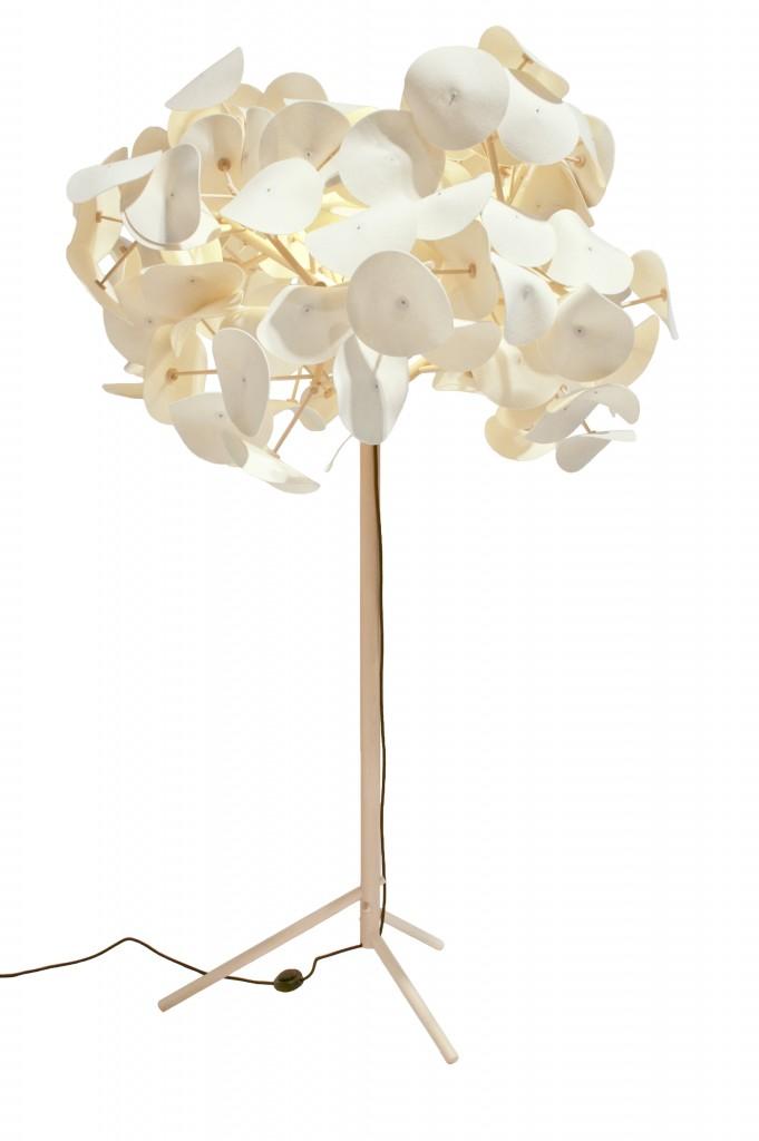 Lámpara sostenible ganadora del Green Furniture Award
