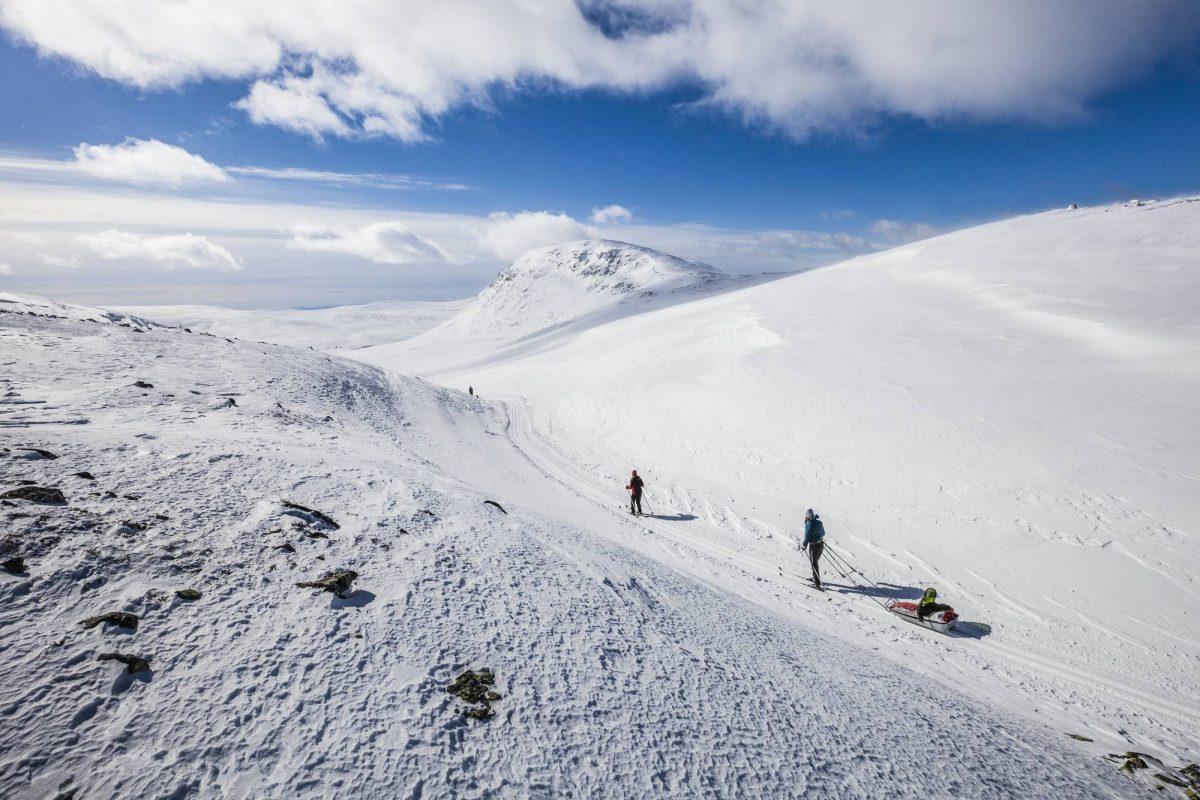 Rutas de esquí en Lofsdalen, Suecia <br> Foto: Martin Olson