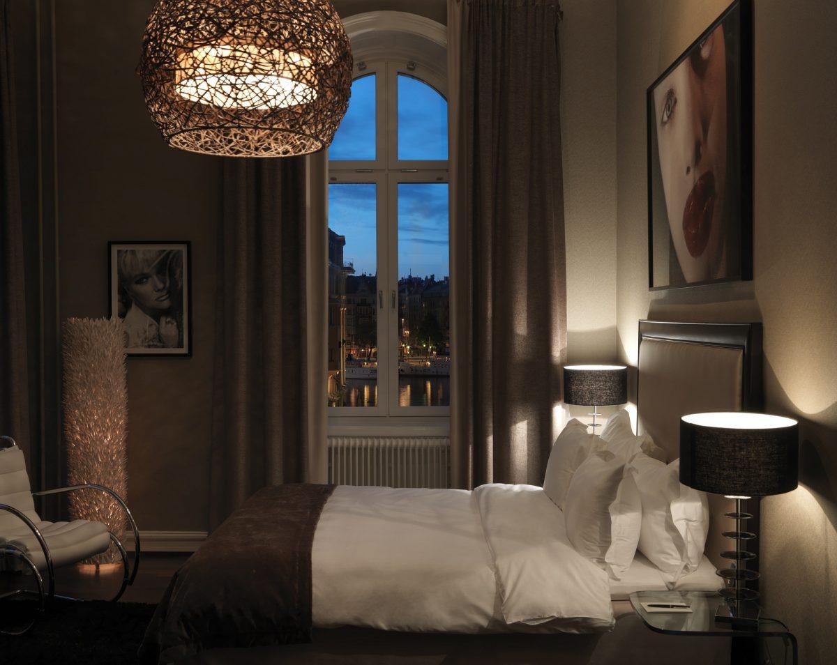 Lydmar Hotel habitación tipo Medium en el lujoso hotel de Estocolmo