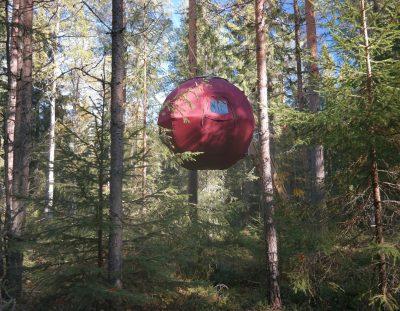 Slaap in een boomhut in Dalarna, Zweden