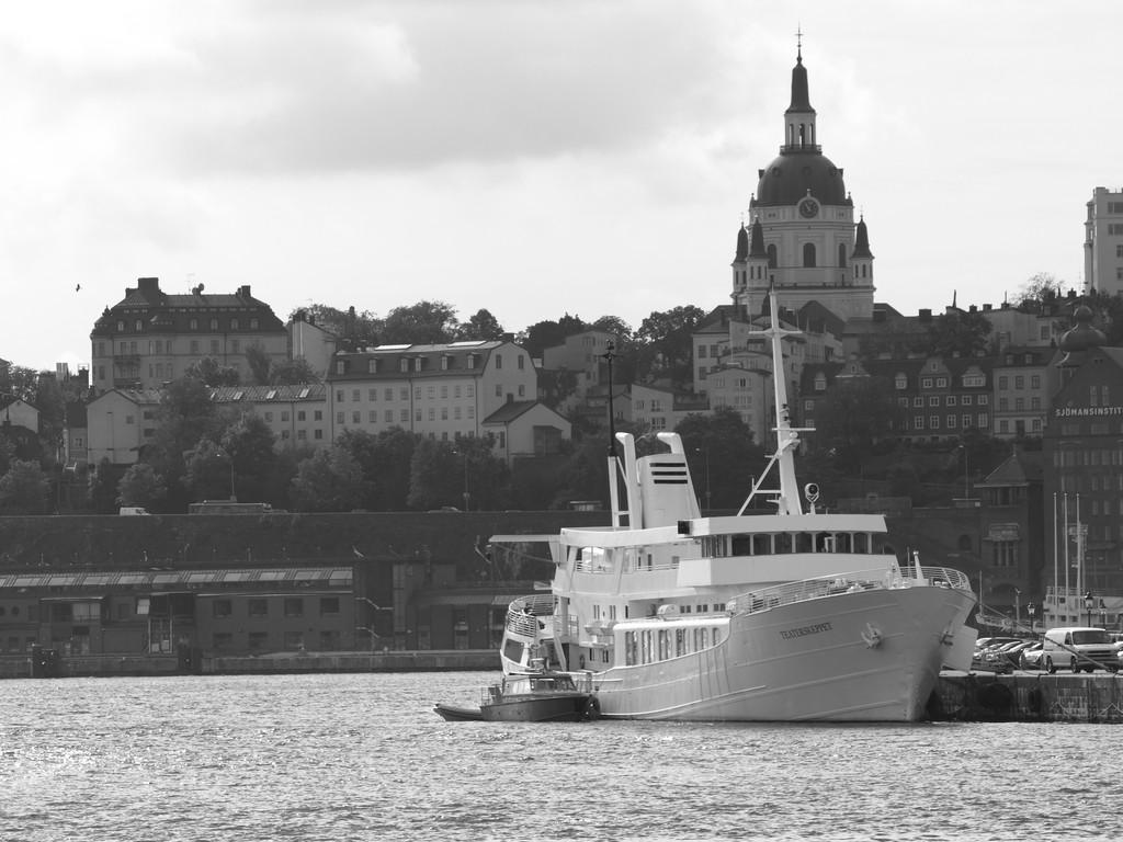 Vista de Estocolmo en b/n<br>Foto: Israel Úbeda/sweetsweden.com