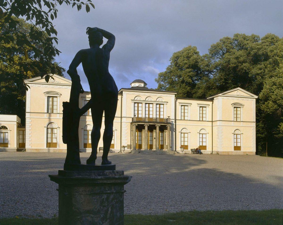 Exterior del Palacio de Rosendal en Djurgården, Estocolmo Foto: kungahuset.se