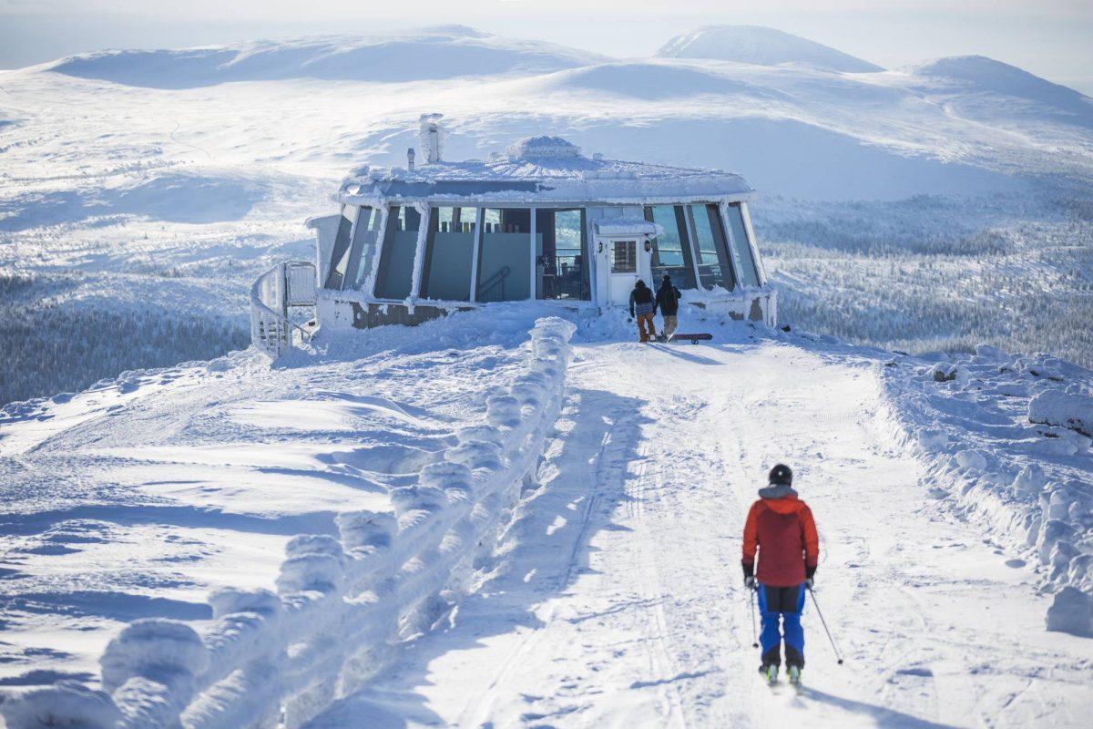 El impresionante Skybar de Lofsdalen <br> Foto: Martin Olson