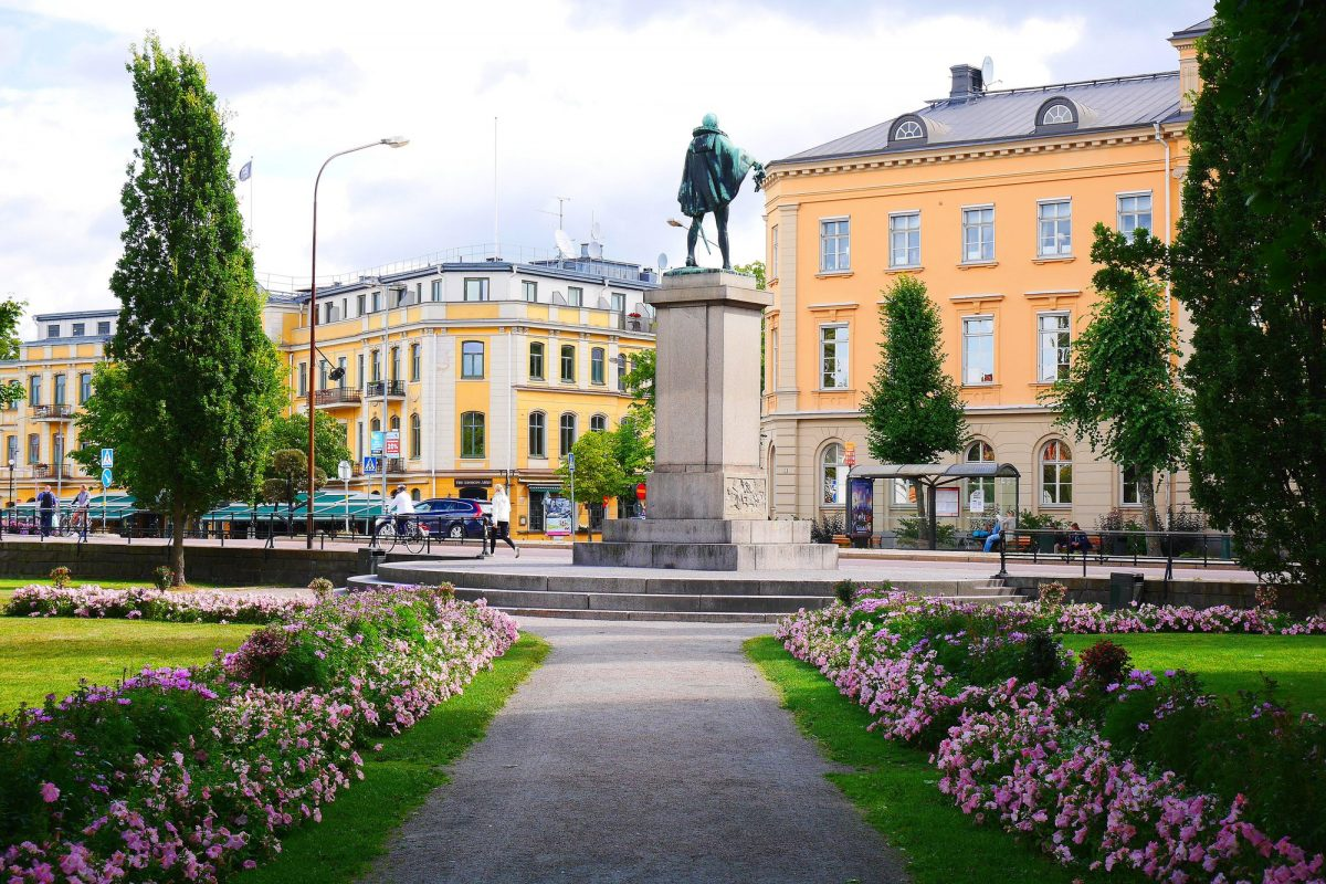 La estatua del duque Karl <br> Foto: karlstad.se