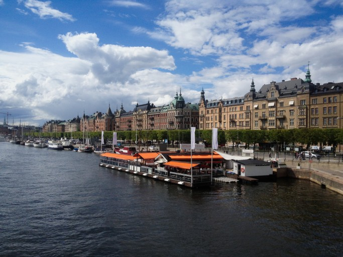 Strandvägen en Estocolmo <br> Foto: Israel Úbeda / sweetsweden.com