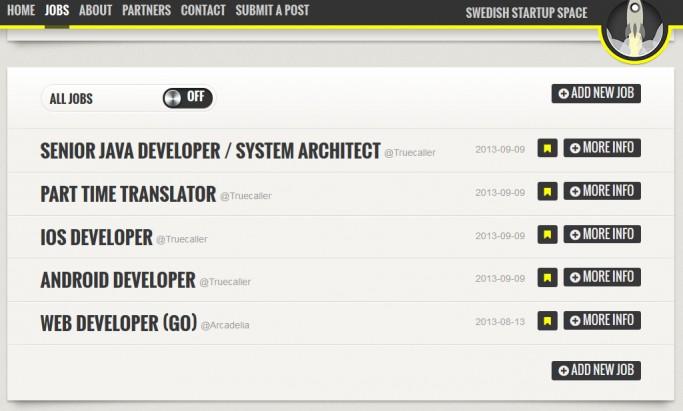 Swedish Startup Space agrupa las empresas tecnológicas suecas