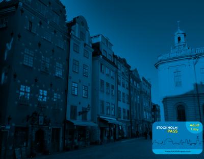 Koop de Stockholm Pass toeristische bezoekerskaart