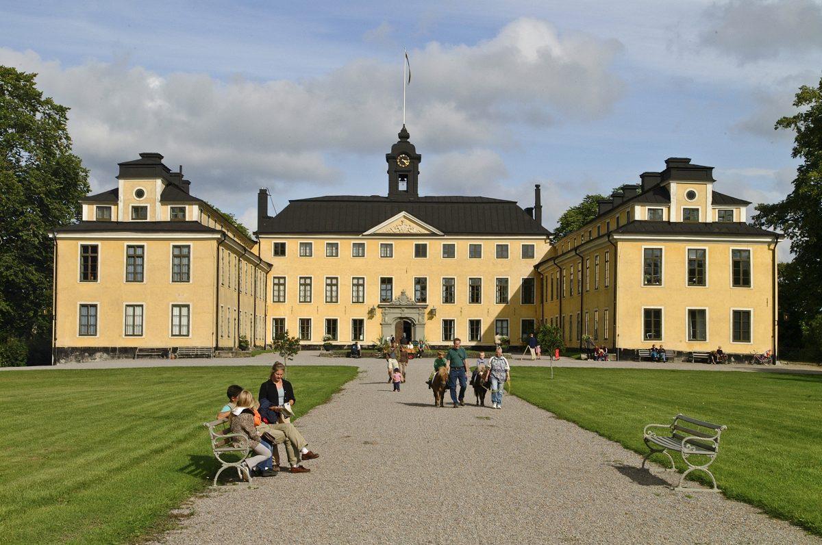 Exteriores del palacio de Ulriksdal <br> Foto: Gomer Swahn